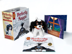 1. Hi res Perfectly Maggie_complete book, plush and pop=up lge
